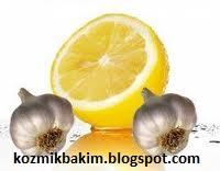 Limon Suyu ve Sarmısagın Muhtesem Ortaklıgı
