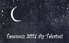 Temmuz 2017 Ay Takvimi-Sağlık ve Güzellik