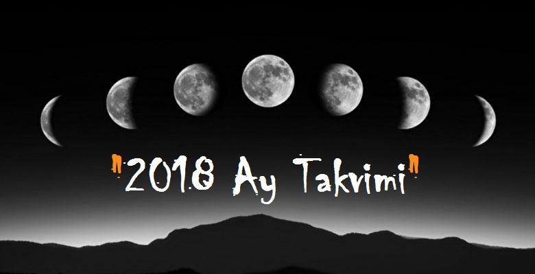 ay takvimi 2018