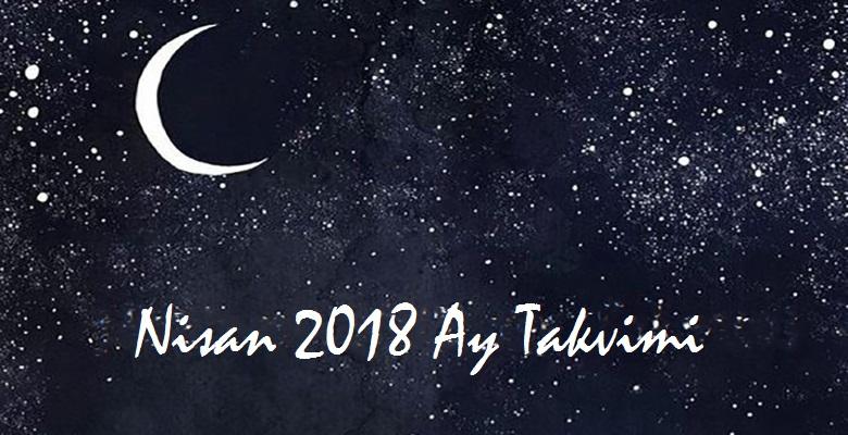 Ay Takvimi Nisan 2018 | Sağlık ve Güzellik