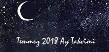 Ay Takvimi Temmuz 2018   Sağlık ve Güzellik