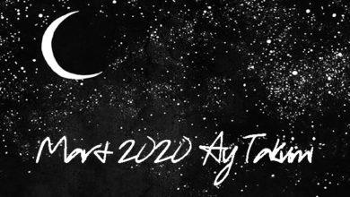 mart 2020 ay takvimi