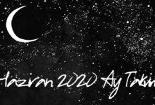 haziran 2020 ay takvimi