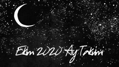 ekim 2020 ay takvimi